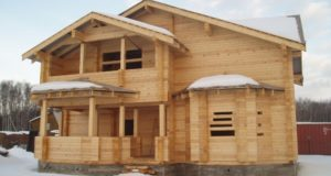 Достоинства домов из дерева
