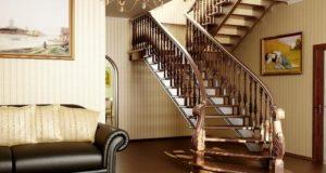 Деревянные лестницы: роскошь и элегантность