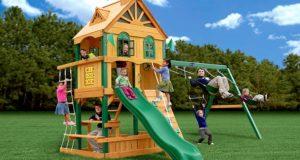 Модульные детские площадки для дачи