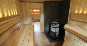 Внутренняя отделка построенной бани