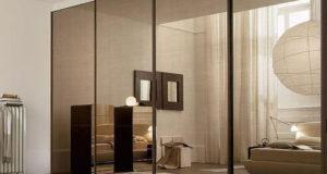 Использование стекла и зеркал при оформлении шкафов купе