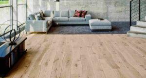 Деревянный пол с изгибами компании Bolefloor.