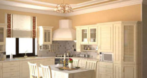 Рекомендации по отделки потолка на кухне