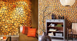 Стены из древесины