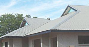 Крыша из обыкновенного шифера