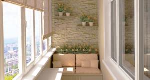 Типы и способы отделки балконов