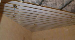 Качественный и быстрый монтаж реечного потолка