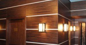 Немного о панелях для стен из дерева
