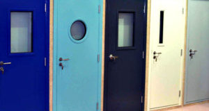 Современные двери с противопожарными свойствами