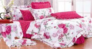 Сон на красивом постельном белье