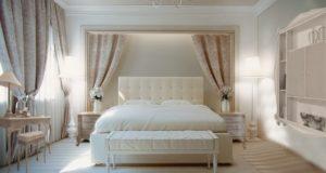 Спальня по-французски стиль прованс