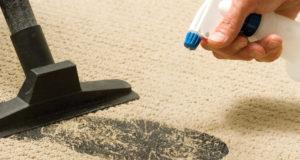 Способы чистки коврового покрытия