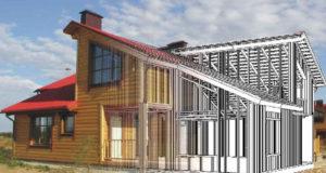 Как происходит создание быстровозводимых каркасных домов
