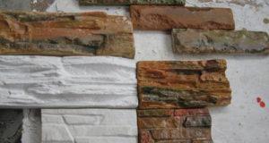 Создание имитации искусственного камня из гипса