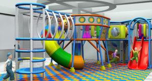 Стилизованные игровые комнаты