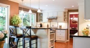 Барные стулья для оформления интерьера кухни