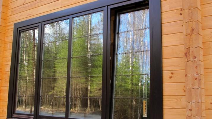 Алюминиевые окна для дома