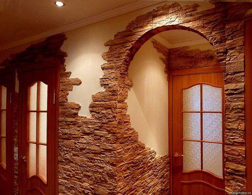 Арки из натурального камня