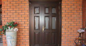Правильный выбор наружной входной двери