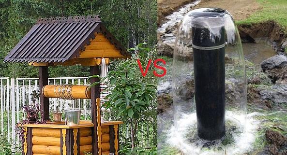 Что лучше для загородного дома? Колодец или скважина?