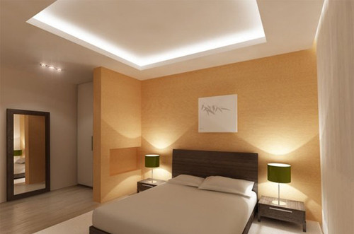 Двухуровневые потолки из гипсокартона, фото и как сделать