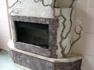 Как отделать камин: варианты отделки камина