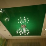 Как создать зеленый потолок, особенности оттенка, сочатения цвета