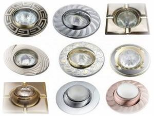 Как выбрать светильники для натяжного потолка?
