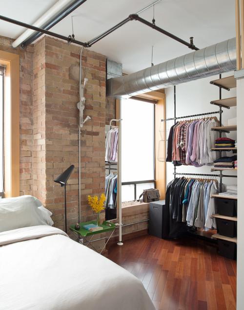 Красивая и уютная спальня: современная планировка