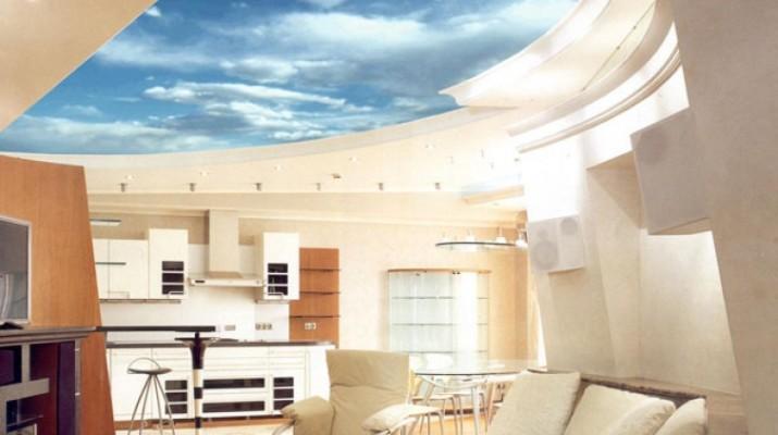 Многоуровневые натяжные потолки, как установить и выбрать