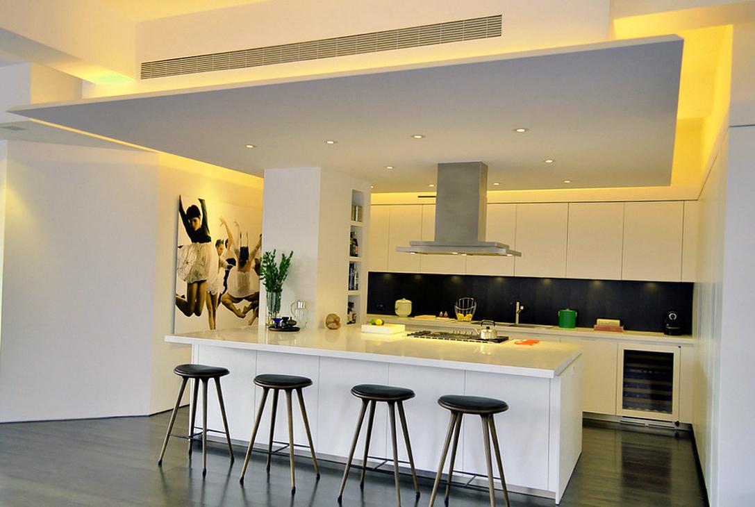 Многоуровневые потолки из гипсокартона фото готовых решений