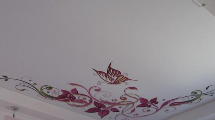 Наклейки на потолок