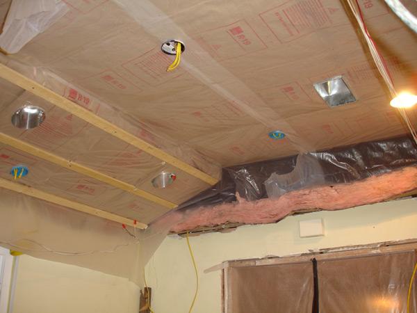 Пароизоляция для потолка в деревянном перекрытии, как сделать