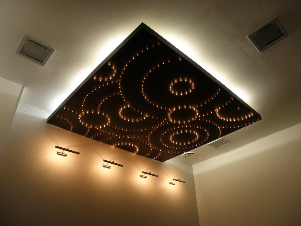 Парящий потолок, какие есть виды и как сделать самому
