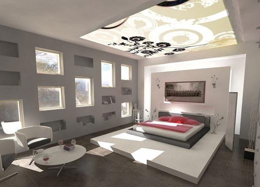 Потолки из гипсокартона, фото готовых решений и правила выбора