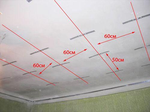 Потолок из гипсокартона своими руками, все в деталях