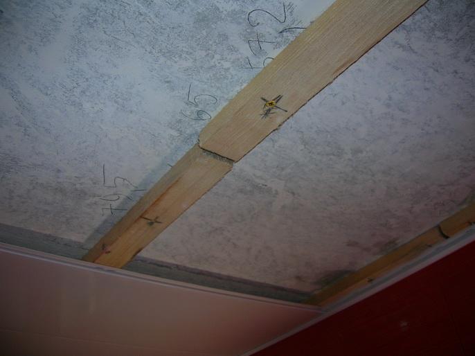 Потолок из панелей пвх своими руками