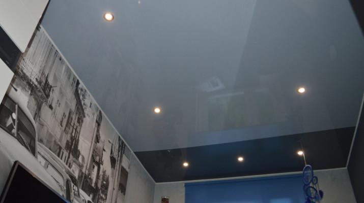 Правила оформления серого потолка в доме