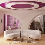 Стильные натяжные потолки для интерьера