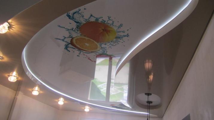 Светильники для натяжных потолков, фото и как выбрать