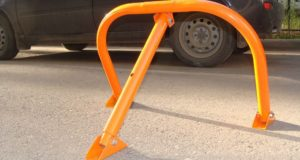 Парковочный механический барьер