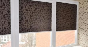 Рулонные шторы:типы и особенности