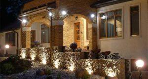 Фасадные светильники для оформления дома