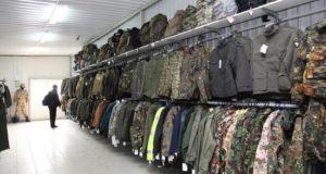 Покупка спецодежды в военном магазине – особенности