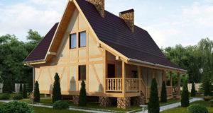 Особенности выбора проектов каркасных домов