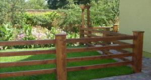 Качественное ограждение для загородного дома или коттеджа