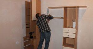 Сборка и разборка мебели при переезде