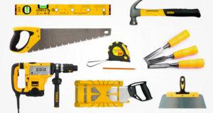 Инструменты для осуществления строительных работ