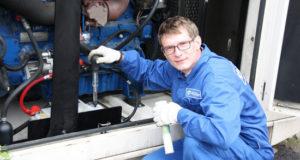 Профессиональное обслуживание оборудования на дизельном топливе