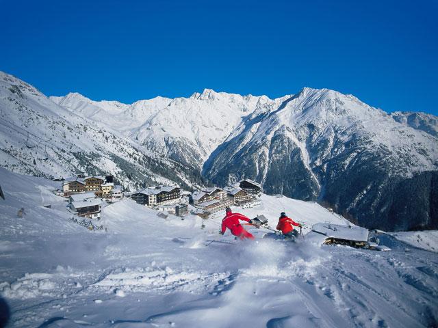 Защита горной местности от снежных лавин